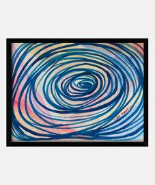 groviglio immagine blu