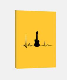 guitare rock battement ,fréquence