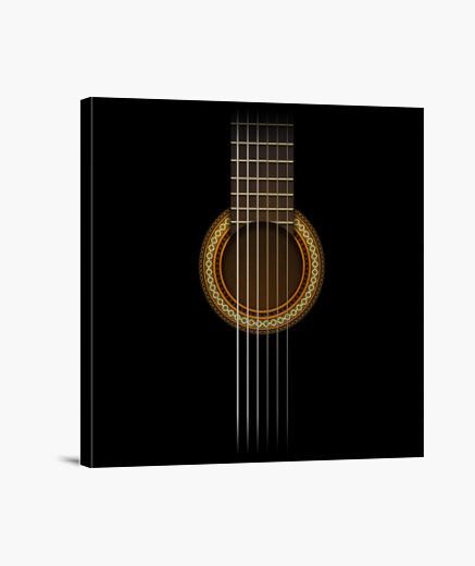 Tableau guitare totale
