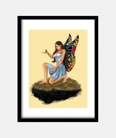 Hada con mariposa