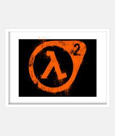 Half-life logo (graffiti)