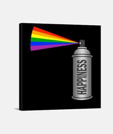 Happiness rainbow
