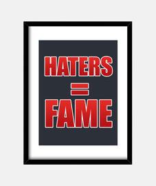 haters images verticales = célébrité