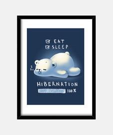 Hibernation print