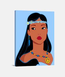 Hippiehontas Pocahontas Hippie
