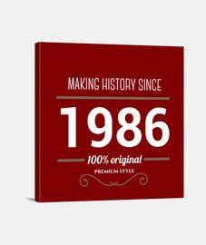 histoire de faire du texte blanc 1986