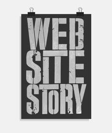 histoire du site web