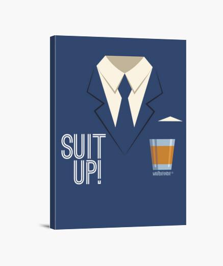 Stampa su tela how i met your mother - suit up!