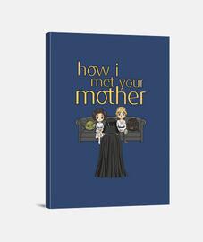 How I met your mother_Lienzo
