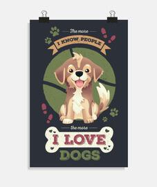 i love chiens