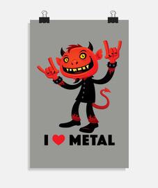 i love metal devil