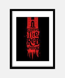 i survécu au mariage rouge