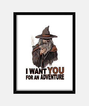 I want you for an adventure