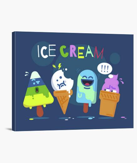 Tableau ice crème
