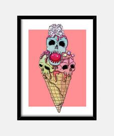 Icecream of death (30 x 40 cm)
