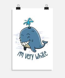 Ich bin sehr Wal