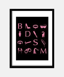 icônes roses bdsm