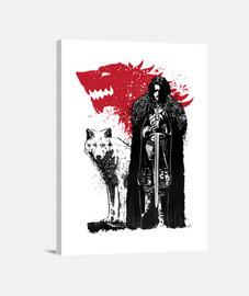 il king e il lupo bianco