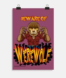 il lupo mannaro - poster