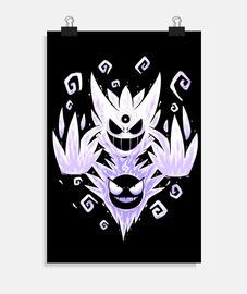 il mega fantasma dentro - poster