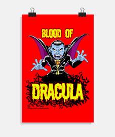 il sangue of dracula - poster