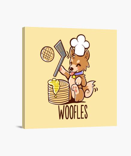 Lienzo I'm Making Woofles