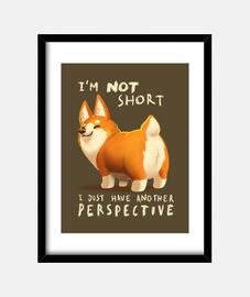 I'm not short print