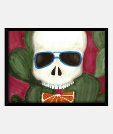 image de crâne cactus