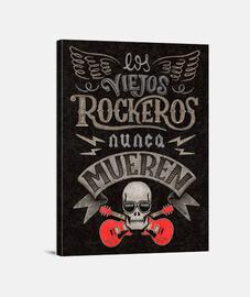 imprimer vieux rockers