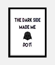 incolpa il lato oscuro
