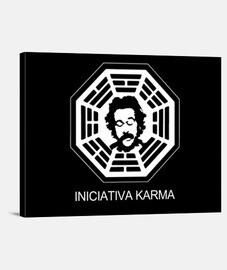 Iniciativa Karma (Lienzo con bastidor)