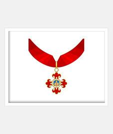 Insignia, Orden de Alfonso X el Sabio