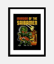invasion du saibamen