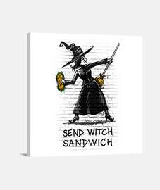 inviare witch panino