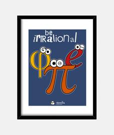 irrational être π φ e (fond sombre)