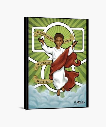 Jaden Smith: el profeta (lienzo)