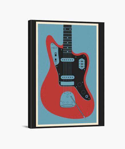 Stampa su tela Jaguar guitar