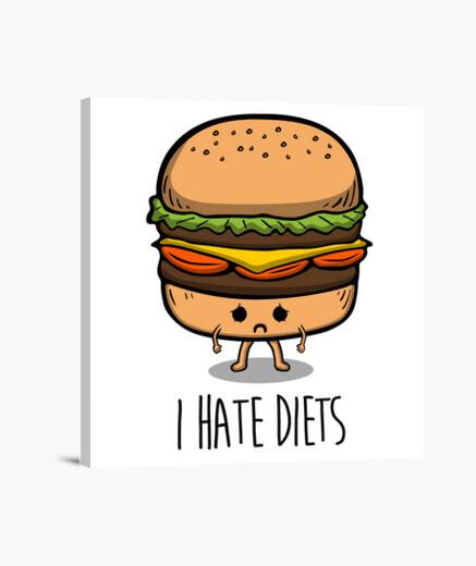 Tableau je déteste les régimes