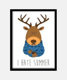 je déteste l'été