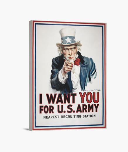 Tableau je veux que vous, james montgomery flagg