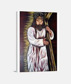 Jesús con la Cruz a cuestas (lienzo)