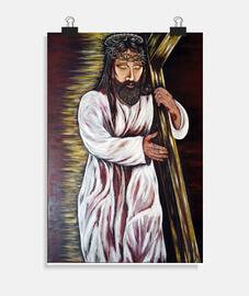 Jesús con la Cruz a cuestas (póster)