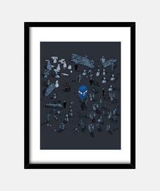 jeu de temps and d' espace