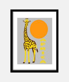 Jirafa Africa