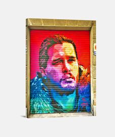 john snow - toile verticale 3: 4 - (30 x 40 cm)