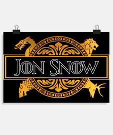 JON SNOW - JUEGO DE TRONOS