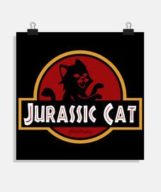 Jurassic Park Cat parodia gato