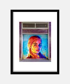 kalesi - cadre avec cadre noir vertical 3: 4 (15 x 20 cm)