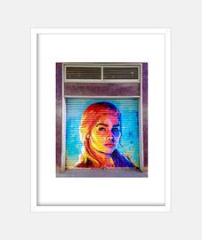 kalesi - frame with vertical white frame 3: 4 (15 x 20 cm)
