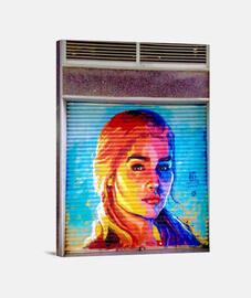 kalesi - toile verticale 3: 4 - (30 x 40 cm)